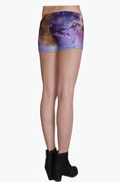 Digital printing three   safety   breathable hip significant graceful posture shorts