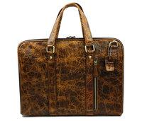 Luxury Brand Vintage Casual Crocodile 100% Genuine Cowhide Leather Men Handbag Messenger Bag Shoulder Bag Bags Breifcase For Men
