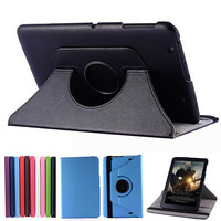 80pcs/lot 360 Rotating Leather Case Stand Protective Skin Cover For LG G PAD 10.1 V700 10.1inch Tablet PC DHL