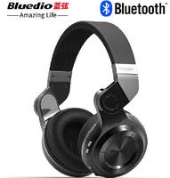 High quality Bluedio T2 Multifunction Stereo Bluetooth Headset noise canceling headphone wireless earphone