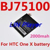 Original 2000mAh BJ75100 Battery For HTC One X One XL One X Plus Batterie Batterij Bateria AKKU Accumulator PIL
