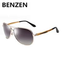 2015 Sunglasses Men Polarized Gradient Oculos Glasses Alloy Aviator  Glasses Grade With Case 9057