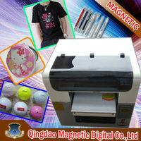popular model A3 6 colors digital dtg printer