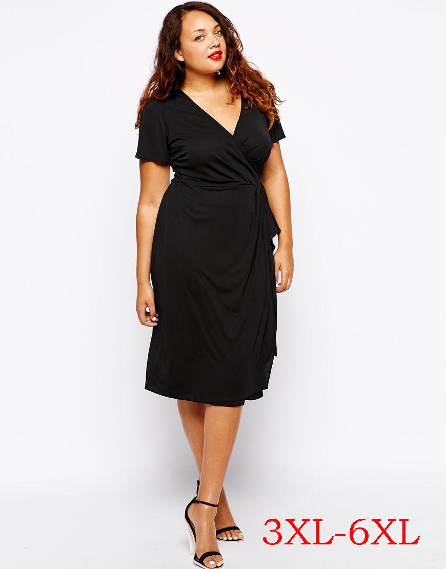 Awesome Style Plus Size Skinny Dress Large Big Size Summer Clothing For Women