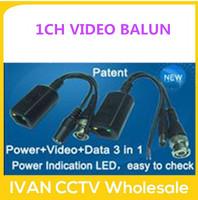 1CH Passive Video Power Data Transceiver Passive Video Power Data Transceiver VIDEO BALUN