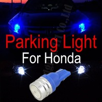 Upgrade 1.5W High Power Car T10 w5w wedge 501 12V Auto LED SideLight Lamp Parkers Beam Light Bulbs Parking Light For Honda 2x