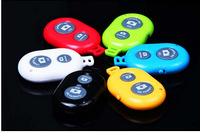 Wholesales Colorful Wireless Bluetooth Camera Remote Control Self-timer Shutter For Samsung S3 S4 S5 iphone 4S 5S