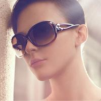 Ms sunglasses fashion  bow ramp frog mirror oculos de sol feminino