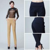 Hot Sale new Autumn loose sport pants women casual harem long trousers high quality OL Sweatpants XXL XXXL Long Trousers