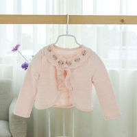 baby Girls fall spring children lace coats flowers clothing    BB406CT-45