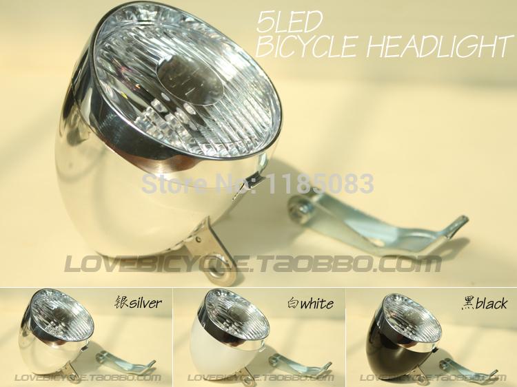 Vintage bicycle lights led headlight bicycle headlight lighting lamp vintage free shopping classic bicycle headlight(China (Mainland))