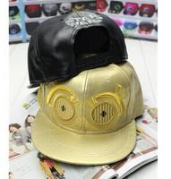 2014 New Brand Design Star Wars Snapback Fashion Leather Baseball Cap Cute Men & Women Hip Hop Hat