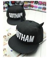 2014 New Brand Design Snapback Fashion Devil Ears Baseball Cap Cute Men & Women Hip Hop Hats