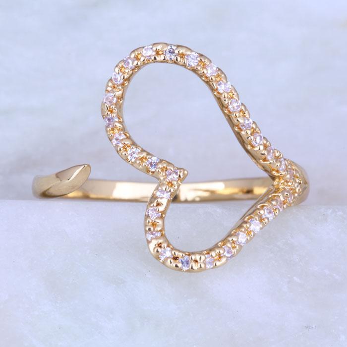 Кольцо Layla Jewelry 18K J0438 6/7/8 кольцо i wish jewelry r094 8 18k r094 8