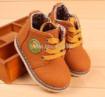 Китай марка дети сапоги 210 дети весна обувь мальчиков ботинки водонепроницаемый скольжению мода дети снег сапоги мех 668A