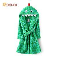 3d Cartoon Cosplay Children Bathrobe:Kids Long Section Robe Child Baby Soft Boy Flannel Sleep Robe Boys/girls Pajama Winter
