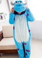 2014 Unisex Adults Casual Flannel Hooded Pajamas Cosplay Cartoon Cute Animal Onesies Sleepwear Suit Nightclothes