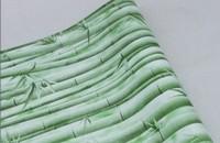 Waterproof green thick high-grade PVC self adhesive wall paper wallpaper
