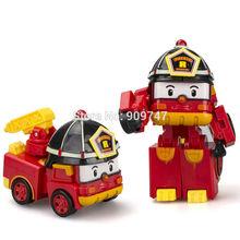Robocar Poli Transformation Robot Car Toys South Korea styling toys 1pc(China (Mainland))