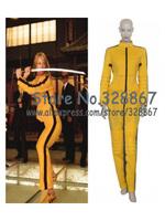 Kill Bill The Bride Yellow Sports Cosplay Costume