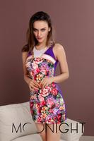 New Fashion  Plus Size Top Womens Autumn Basic Dress Ladies Brand New Sleeveless Long Lace Slim Sexy Dress Free  Shipping