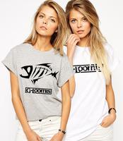 New Fashion G. Loomisr T Shirt Good Personality Tshirt for Women Cotton tshirt With Short Sleeves