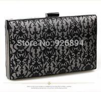 Simple and casual fashion applique wedding party hollow charm purse wallet clutch evening bag ladies handbag shoulder bag chain