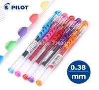 Free Shipping Pilot BL-WG-38 Retractable Premium Gel Ink Roller Ball Pens/Ultra Fine Point/Pilot park press gel pen 0.38MM