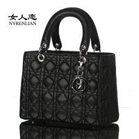 Women love the new Korean version of branded Ms Princess Diana handbag hand shoulder shaping the Bao Ling Chao wholesale