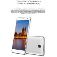 "Original Doogee DG850 HITMAN DG850 5"" JDI Android 4.2.2 MTK6582 Quad Core 3G Cell Phone 13MP CAM 1GB RAM 16GB ROM WCDMA"
