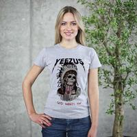 The Best T-shirt Brand Shirt Yeezus tshirt The United States In 2015 Large Kanye Clothing Fashion Short-Sleeved Cotton tshirt