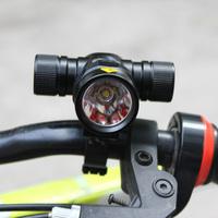 CREE XML T6 LED 500 Lumen Bicycle Clamp Bike Headlamp Headlight 5 Mode