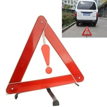Triangle Safety Warning Board Foldable Reflective Attention Board Size: 39.5cm x 35cm(China (Mainland))