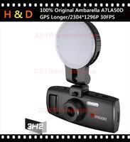 Samoon 3H2F 100% Original Ambarella A7LA50D Car Camera DVR Recorder 1296P+GPS Logger+G-sensor+Night Vision+170 Degree View angle