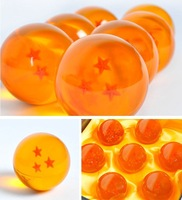3.5CM New In Box DragonBall 7 Stars Crystal Ball Set of 7 pcs Dragon Ball Z Balls Complete set  60set/ lot free shipping