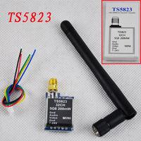 Free Shipping 5.8G 200mW TS5823 32CH Channel FPV Mini Wireless AV Transmitter Module NEW