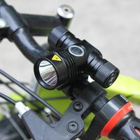 2 pcs/Lot  _ CREE XML T6 LED 500 Lumen Bicycle Clamp Bike Headlamp Headlight 5 Mode