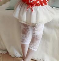7 points leggings of the girls Lace pants kids fashion legging girls princess leggings for kids girls