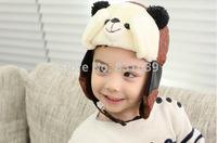 2014 Winter baby winter hats panda child hat Superman Spiderman CAP baby plus cashmere warm cap Free shipping