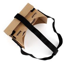 New Head Strap 3D Glasses Elastic Adjustable Head Mout Strap Belt for Google Cardboard Virtual Reality # L07361