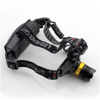2 pcs/Lot _ CREE Q5 LED 3 Mode Waterproof Zoomable Headlamp Headlight For Hiking