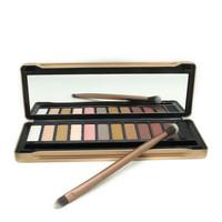 2014 hot brand professional new NK 5 makeup eyeshadow palette 12 colors Eye Shadow Brush makeup set
