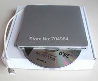 Free shipping USB2.0 bluray burn optical drive External UJ265 blu-ray burn desktop drive for apple macbook air/pro