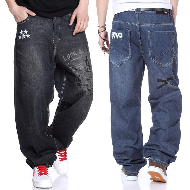 online kaufen gro handel print black jeans for men aus. Black Bedroom Furniture Sets. Home Design Ideas