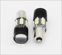 2PCS High Power 1156 7W CREE Q5 12 LED Light Car Head Light Bulb White Lamp DC 12V-30V Clearance Lights Reverse Lights #H003B