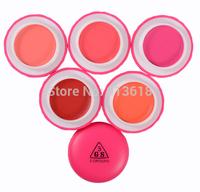 NEW 5 Color Universal Tra Lucency Noisy Macaron Stick Blush Blusher Lip Gloss Make up Lipstick Cosmetics Face Care