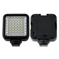 Black WanSen W36 LED Video Camera Light US plug 4W 160LX 6500K DC 3.7V 83127