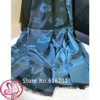 2014 Fashion Winter Scarf Women Brand Designer Silk Scarves Letters Printed Shawl Desigual Female Tassel Scarfs Chrismas Gift