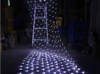 1.5*1.5 m 96 Led 8 flash modes 220V super bright net string light Christmas lights New year light wedding ceremony 85828-85831