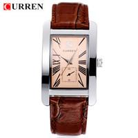 Hot!CURREN Brand Luxury Fashion Men Business Casual High Quality Wristwatch Men Clothing Waterproof Quartz Watch